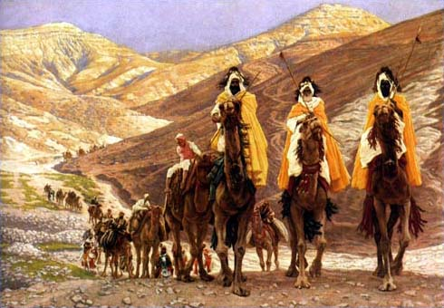 """Journey of the Magi"" by James Tissot, 1902 (click to enlarge)"