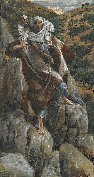 """The Good Shepherd"" by James Tissot (1886-94)"