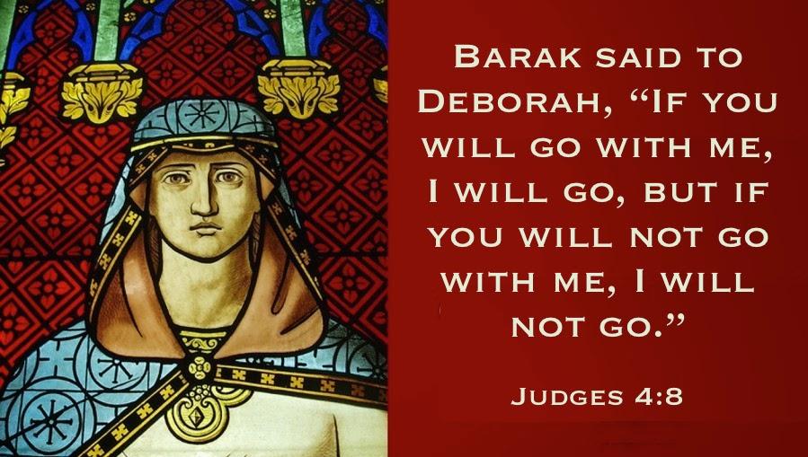 judges4-6 deborah stained glass